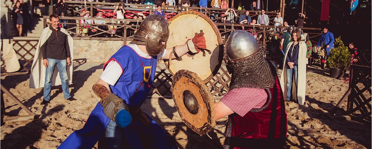 Рыцарский турнир тимбилдинг