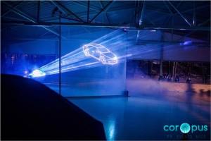 Лазерное шоу Калининград